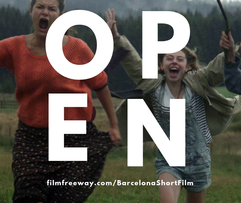 Open submissions for the Barcelona International Short Film & Video Festival 2019